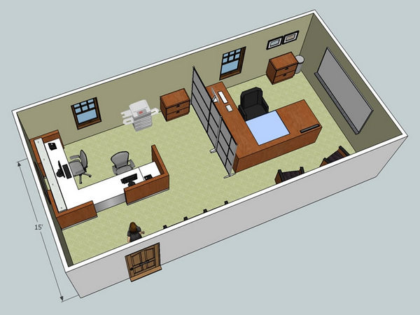 Fine Small Office Space Layout Design U Downgila Com Largest Home Design Picture Inspirations Pitcheantrous
