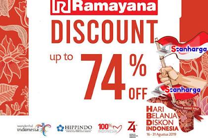Katalog Promo Ramayana Terbaru 16 - 31 Agustus 2019