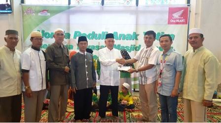 Sambangi Pusat Rehabilitas Narkoba Ar-Rahman, Astra Motor Sumsel Berikan Pelatihan