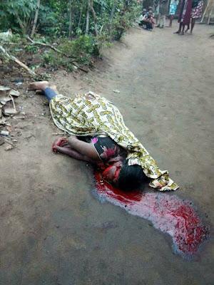 Photos: Vulcanizer Butchers Wife in Akwa Ibom