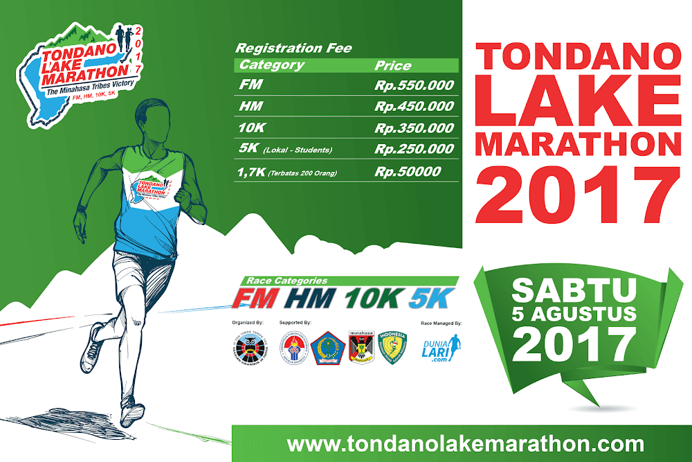Tondano Lake Marathon • 2017