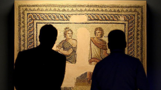 Turkey's Zeugma museum goes online