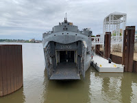 LST 325 bow open