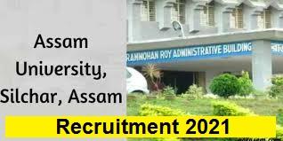 Assam University Silchar Recruitment 2021