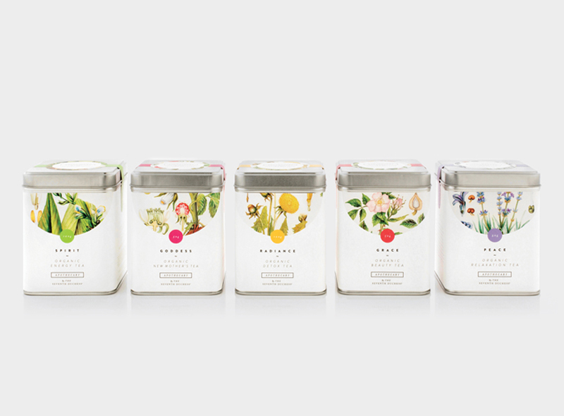 apothecary tea packaging on packaging of the world creative