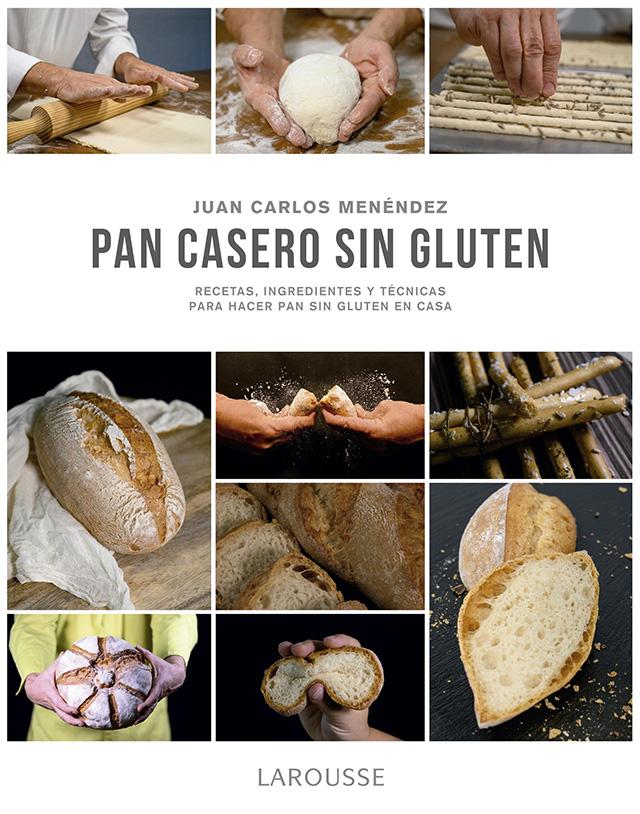 Libro pan casero sin gluten Juan Carlos Menendez
