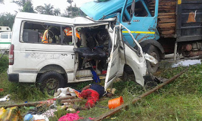 Tears as Peace Mass Transit for the 3rd time this month kills all passengers in fatal accident (graphic photos)