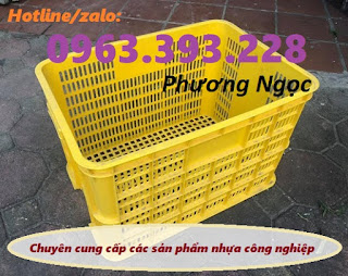 Sóng nhựa rỗng HS005, thùng nhựa 8T rỗng, sọt công nghiệp 8 tầng