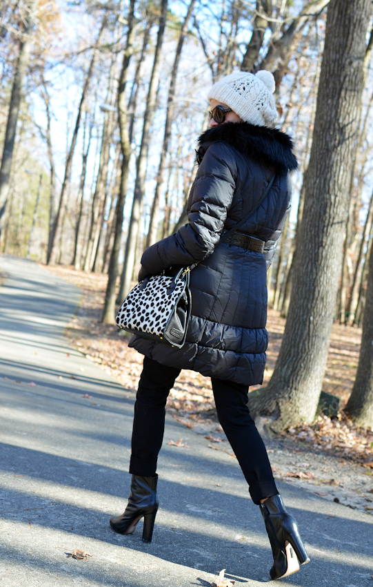 Puffer Coat Outfit