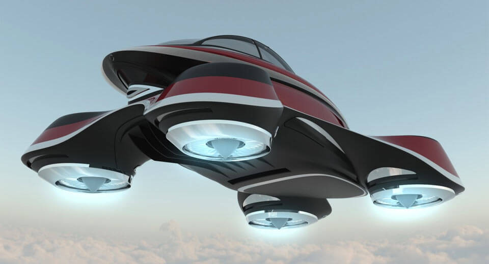 Flying Car For Sale >> Lazzarini Design imagines an Isotta Retro Flying Car ...