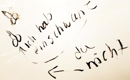 U-Bahn-Poesie: ich hab ein schwanz, du nicht