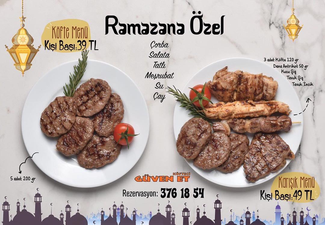 gürsu güven et iftar menüsü bursa iftar mekanları 2019 bursa iftar yerleri bursa iftar menüleri