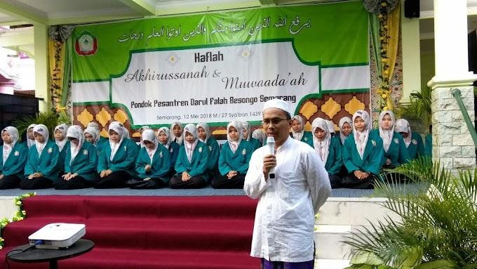 Darul Falah Besongo Tegaskan Pesantren Sebagai Pusat Perdamaian
