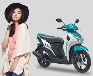 Mio S Tubeless Ban Lebar 125cc Blue Core; Spesifikasi, Harga dan Pilihan Warna