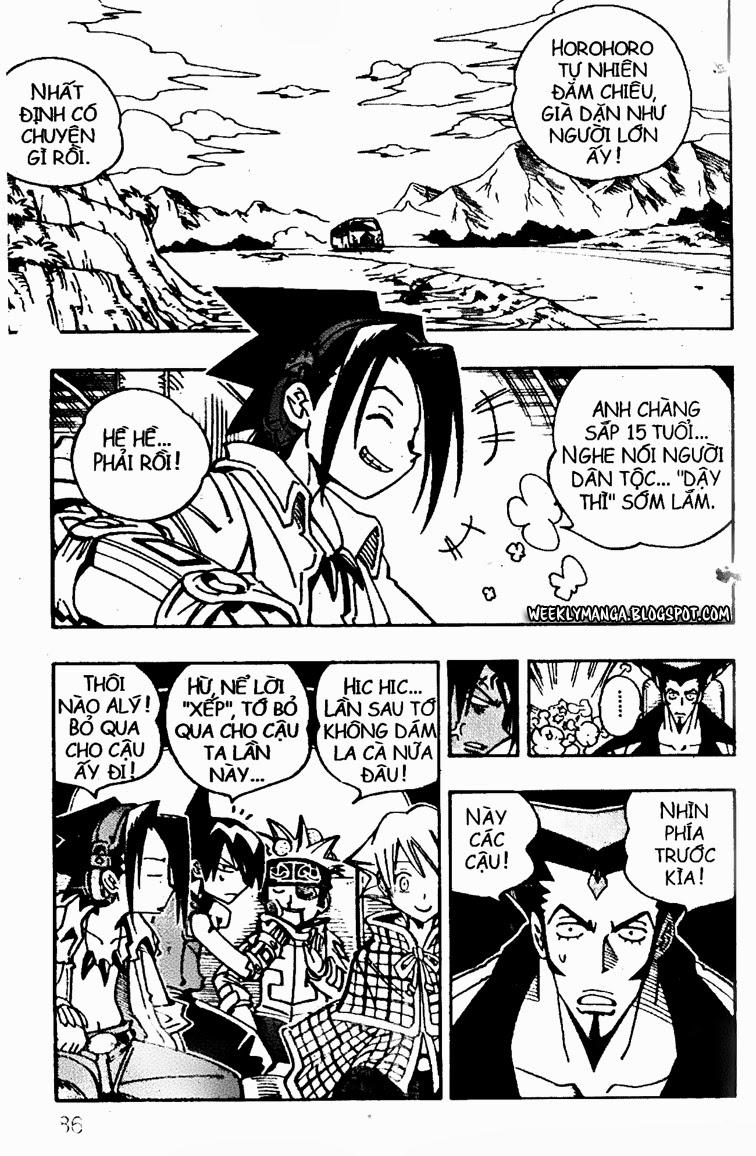 Shaman King [Vua pháp thuật] chap 95 trang 4