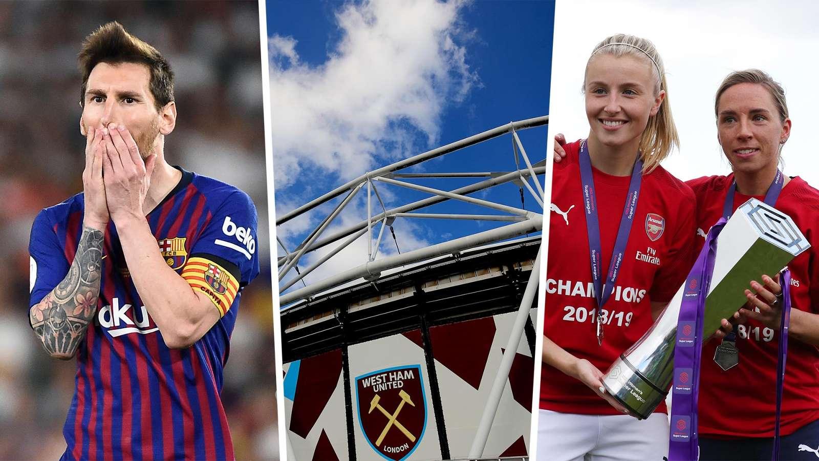 Barcelona sign Sony Music deal, London Stadium landlords