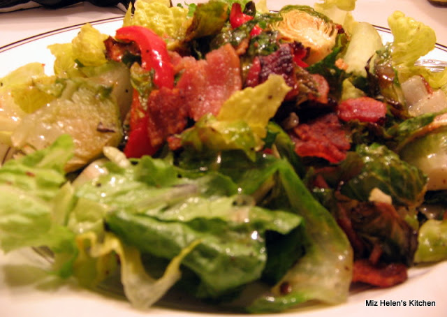 Brussels Sprouts Salad at Miz Helen's Country