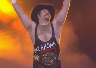 WCW Souled Out 2000 - Oklahoma defended the cruiserweight title against Madusa