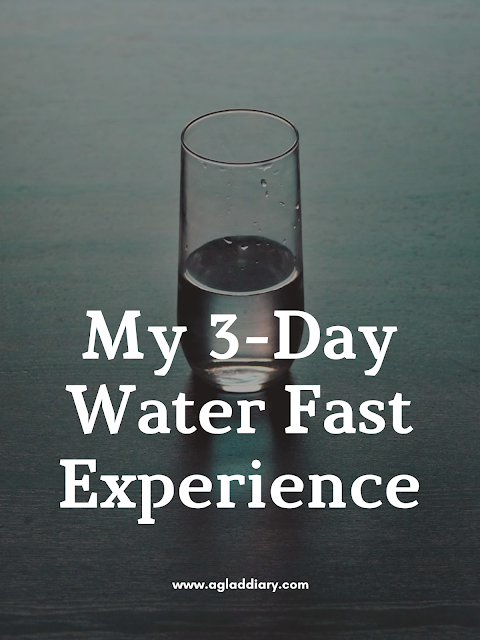 My 3-Day Water Fast Experience