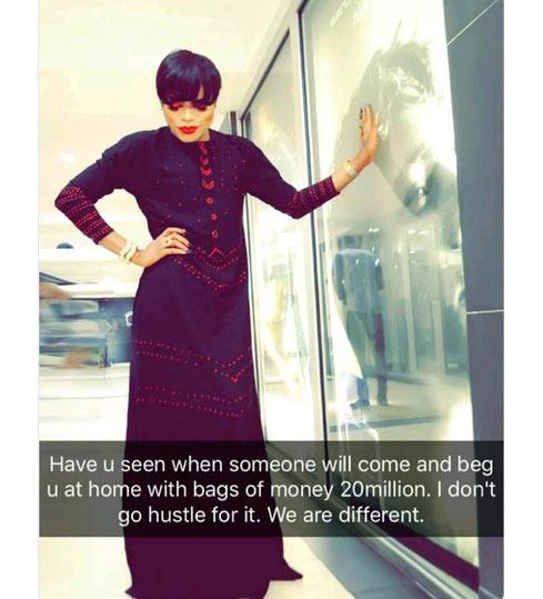 Men beg me with 20 million naira - Bobrisky