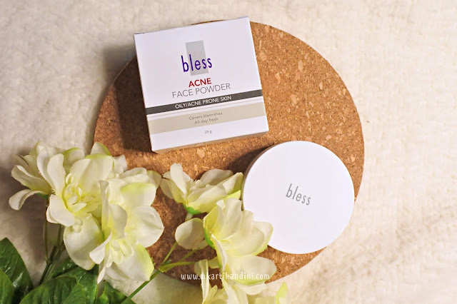 bless cosmetics healthy glow foundation acne face powder