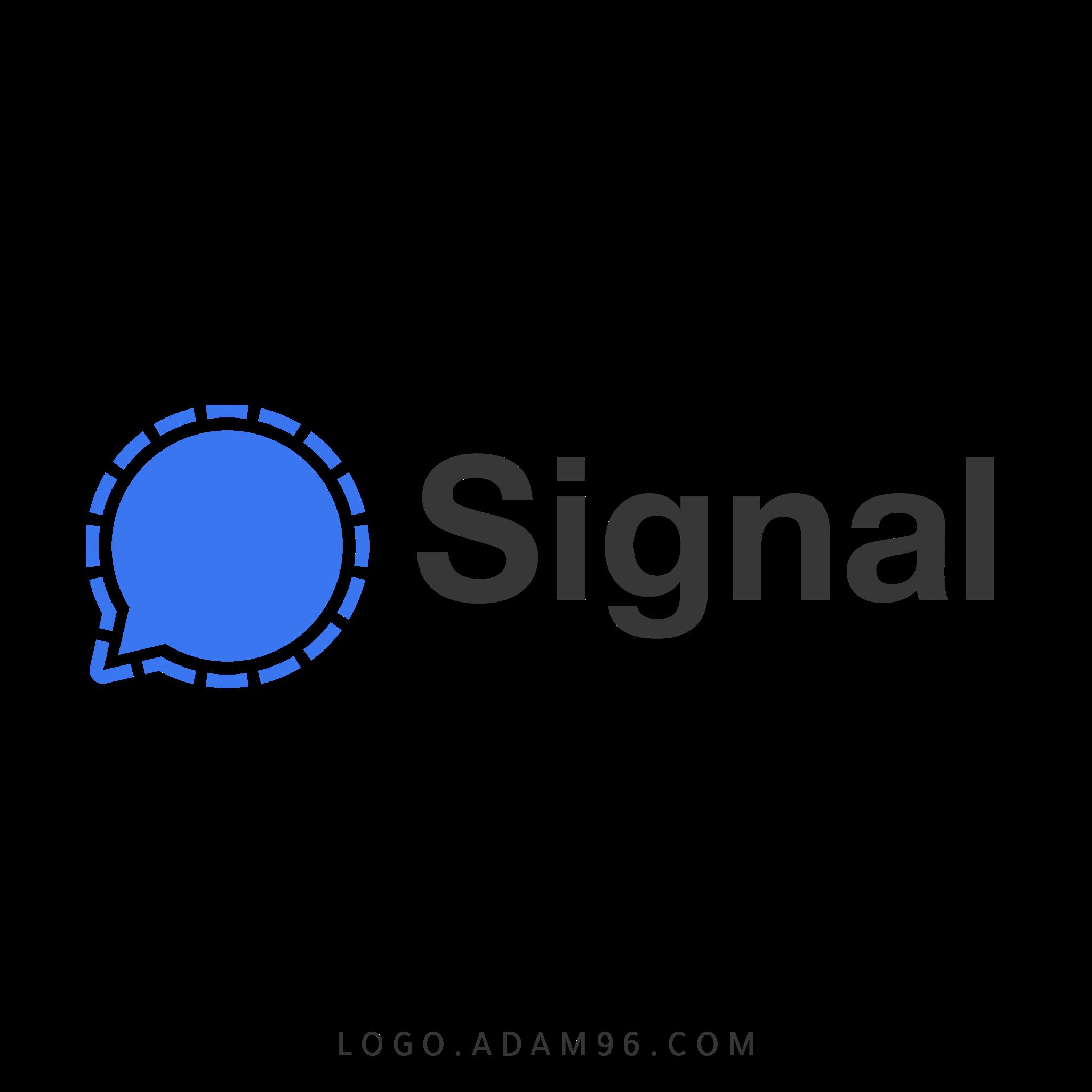 تحميل شعار تطبيق سيجنال لوجو اصلي بصيغة شفافة Logo Signal App PNG