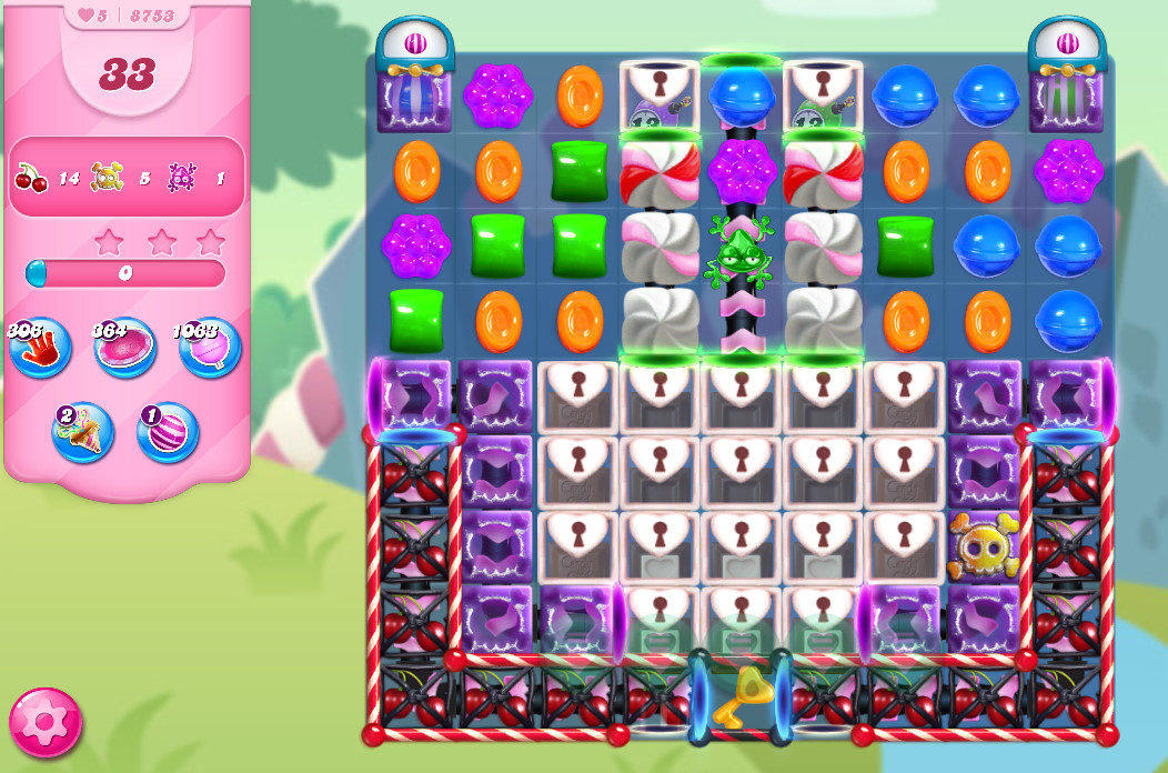 Candy Crush Saga level 8753