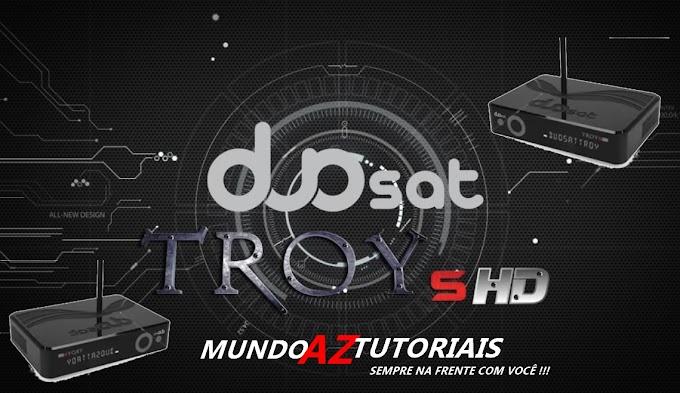 Lançamentos 2016, Duosat TROY S HD! 31/10/2016