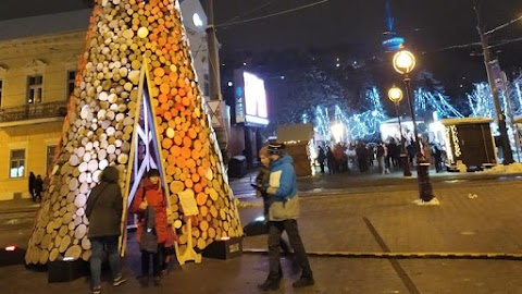 Tűzifából készült a miskolci adományfa