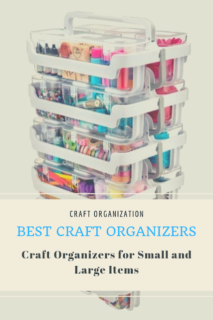 Scrapbook and Craft Organizers