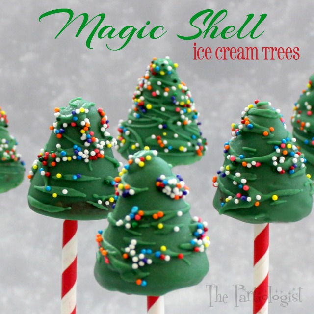 christmas tree ice cream