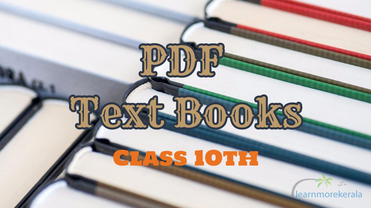 SCERT 10th PDF Books
