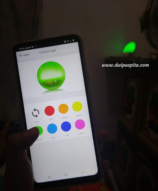 Smart wake up light bardi
