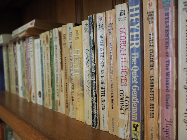 georgette heyer novels