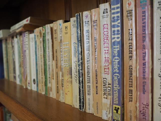 georgette heyer novels