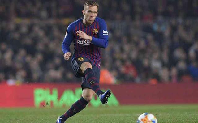 FÚTBOL: Arthur se va del Barcelona a la Juve por 72 millones de euros.