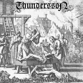 """Το single των Thundersson """"Hanged, Drawn & Quartered / Dream Logic"""""""