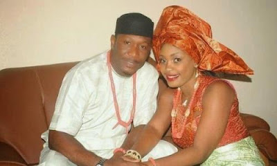 Tchidi Chikere and wife