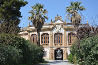 The Villa Palagonia is a great example of Baroque architecture in Sicily