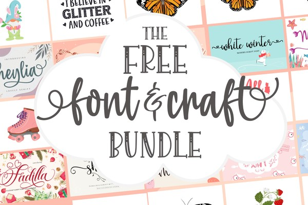 Font and Craft Bundle Collection Giveaway December 2020