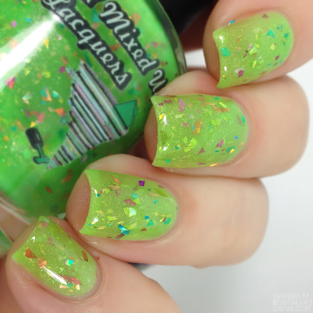 All Mixed Up Lacquer-In The Lime Light