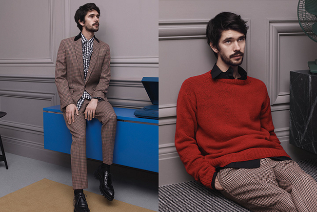 Ben Whishaw Prada Fall Winter 2013