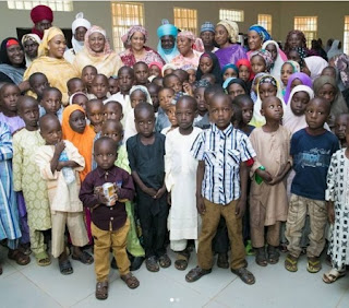 Aisha Buhari Offers Scholarship To 60 Orphans