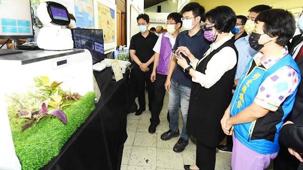 彰化縣智慧農業推廣中心揭牌 產官學合作簽訂MOU