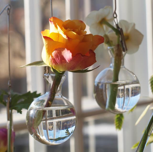 Uro med blomster
