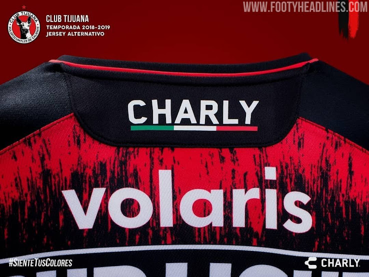 c3d0472bd Tijuana 18-19 Third Kit by Charly Fútbol - Footy Headlines