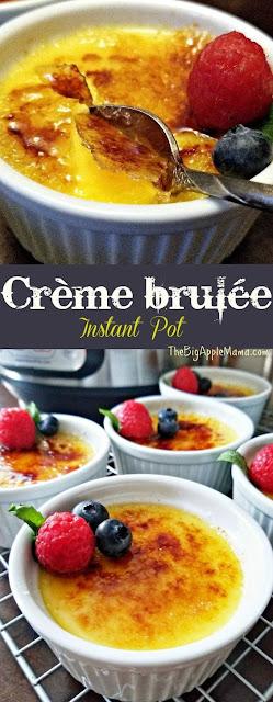 Instant Pot Creme Brulee