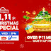 Catch the Shopee 11.11 Big Christmas TV Special on GMA and Win Over ₱11 Million Worth of Prizes