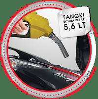 Kapasitas Tangki BBM Ekstra Besar HONDA SUPRA X 125 HELM IN 2018 Anisa Naga Mas Motor Klaten Dealer Asli Resmi Astra Honda Motor Klaten Boyolali Solo Jogja Wonogiri Sragen Karanganyar Magelang Jawa Tengah.