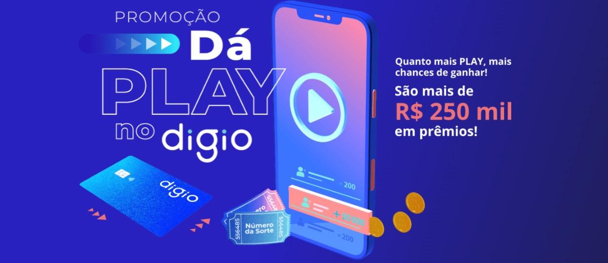 Promoção Cartão Digio 2021 Dá Play